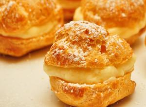 Mmm... cream puffs