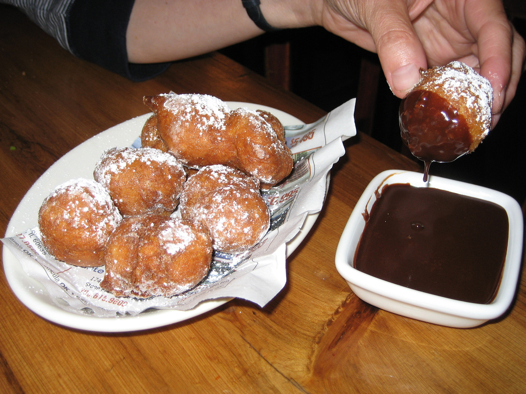 My Mom Loved Frying Foods And Zeppole Or Italian Doughnuts As She Called Them Were Always A Big Hit I Remember She Made Them Every January As The